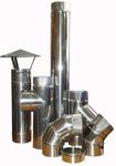 Дымоход из нержавеющей стали для гильзовки кирпичных каналов дымохода