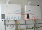 Каскад конденсационных котлов Logamax plus GB112 60 кВт Buderus