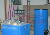 Напольный котел G234-60 кВт и бойлер SU200 Buderus