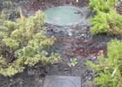 Крышка станции автономной очистки канализации
