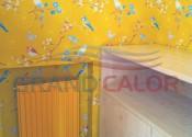 Радиатор Kermi 900-400 22 тип (крашеный, желтый) в нише