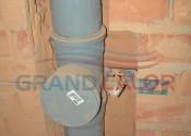 Вывод канализации под унитаз