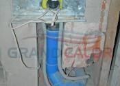 Вывод под розетку для центрального пылесоса