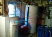 Котельная тепловым насосом VWS 171/2, конденсационным котлом ecoTEC plus VU 246, мультибойлером allSTOR VPS 500/2 и водонагревателем uniStor VIH R 300 Vaillant