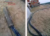 Работы по монтажу грунтовых зондов для теплового насоса