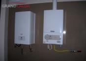 Монтаж газового котла Vaillant и электрического котла Protherm