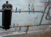 Монтаж гидравлической стрелки и трехходового переключающего клапана Esbe