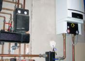 Конденсационный котел Logamax plus GB162 80 кВт Buderus и распределительная гребенка с элементами быстрого монтажа Oventrop