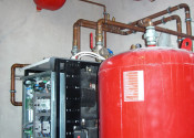 Монтаж теплового насоса Logatherm WPS 33 кВт и бака-аккумулятора PS500 Buderus