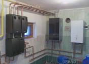 Котельная с конденсационным котлом Buderus Logamax Plus GB172i 35 кВт и электрическим котлом Protherm Скат 12 кВт