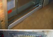 Монтаж встроенных шкафов теплого пола