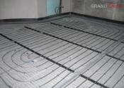 Система теплого пола на матах для монтажа гарпун-скобами и на шинах RauFix Rehau