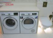 Установка стиральной и сушильной машины