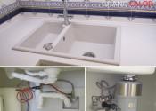 Монтаж обратного осмоса и диспозера (измельчителя пищевых отходов) на кухне