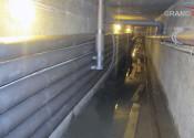 Монтаж трасс отопления, водоснабжения и водоотведения в подвальном помещении
