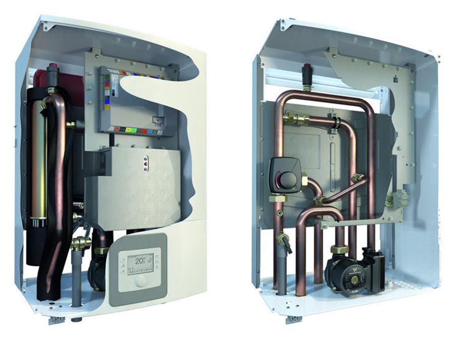 Комплектация внутреннего блока теплового насоса Compress 3000 AWS
